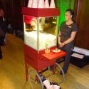 Popcorn Machine and Attendant